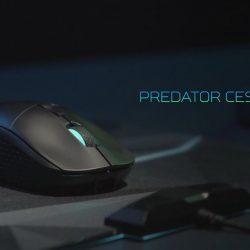 El mouse para juegos Acer Predator Cestus 350 promete un control preciso con o sin cables