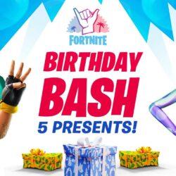 Fortnite: te contamos cuáles serán los regalos para el tercer cumpleaños del juego